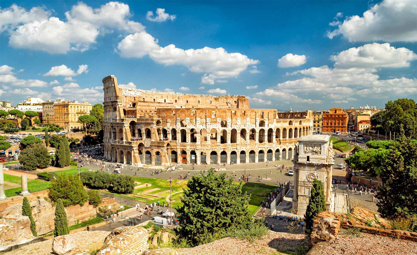 The Best of Rome in a Day - Colosseum Walking Tour around the Roman Forum and Campidoglio