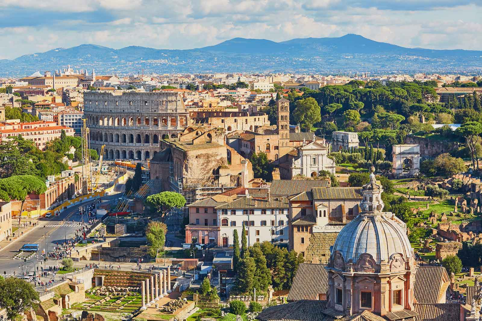 Tour of Ancient Rome in a Day - Colosseum and Roman Forum Tour