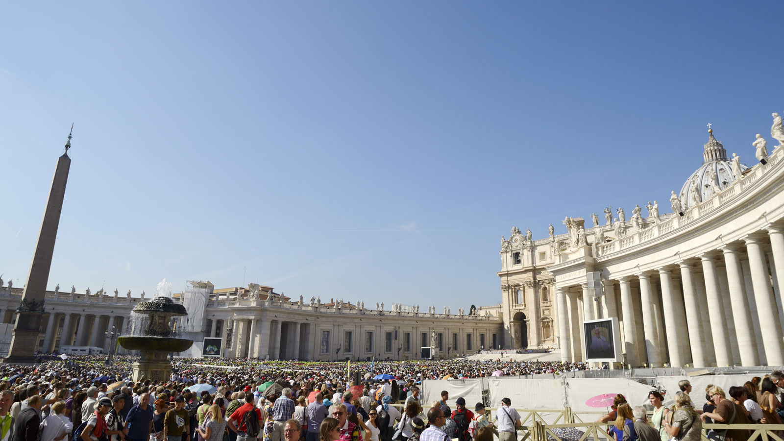 Papal Audience Experience with Pope Francis