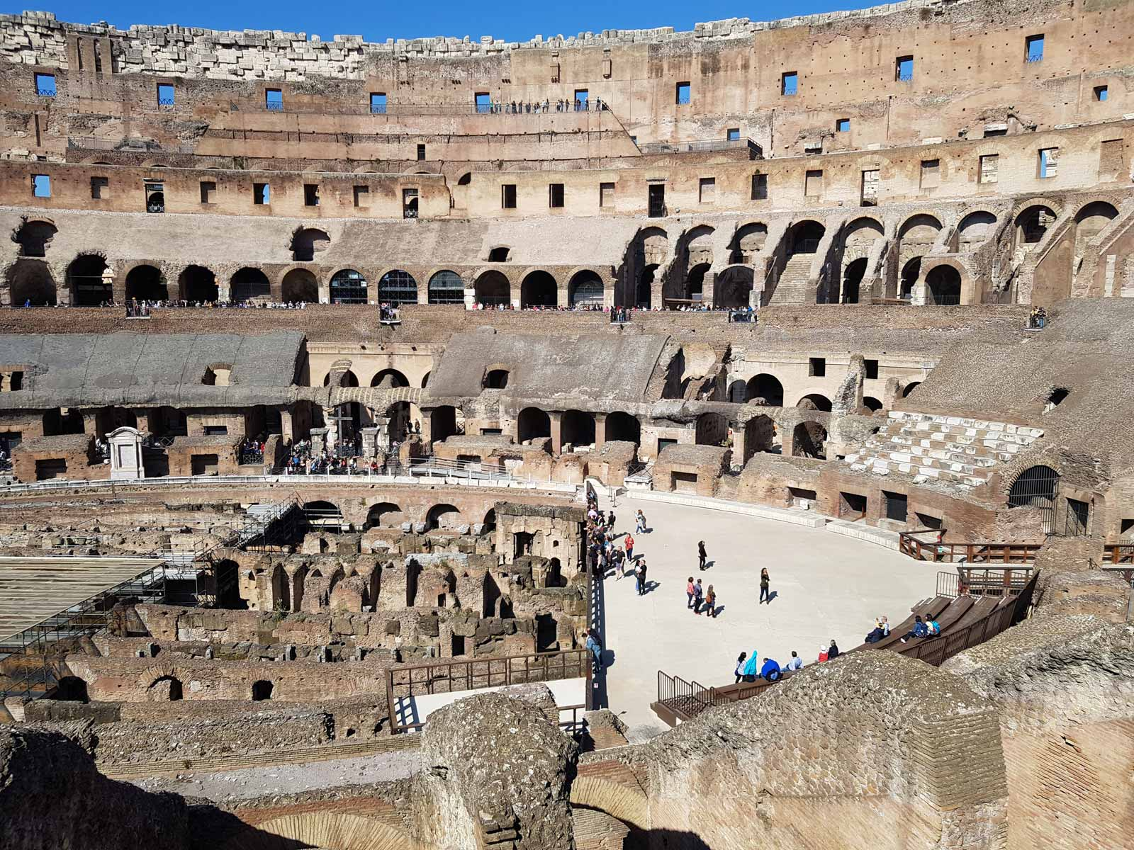 Colosseum, Arena, Underground, Forum and Palatine Hill