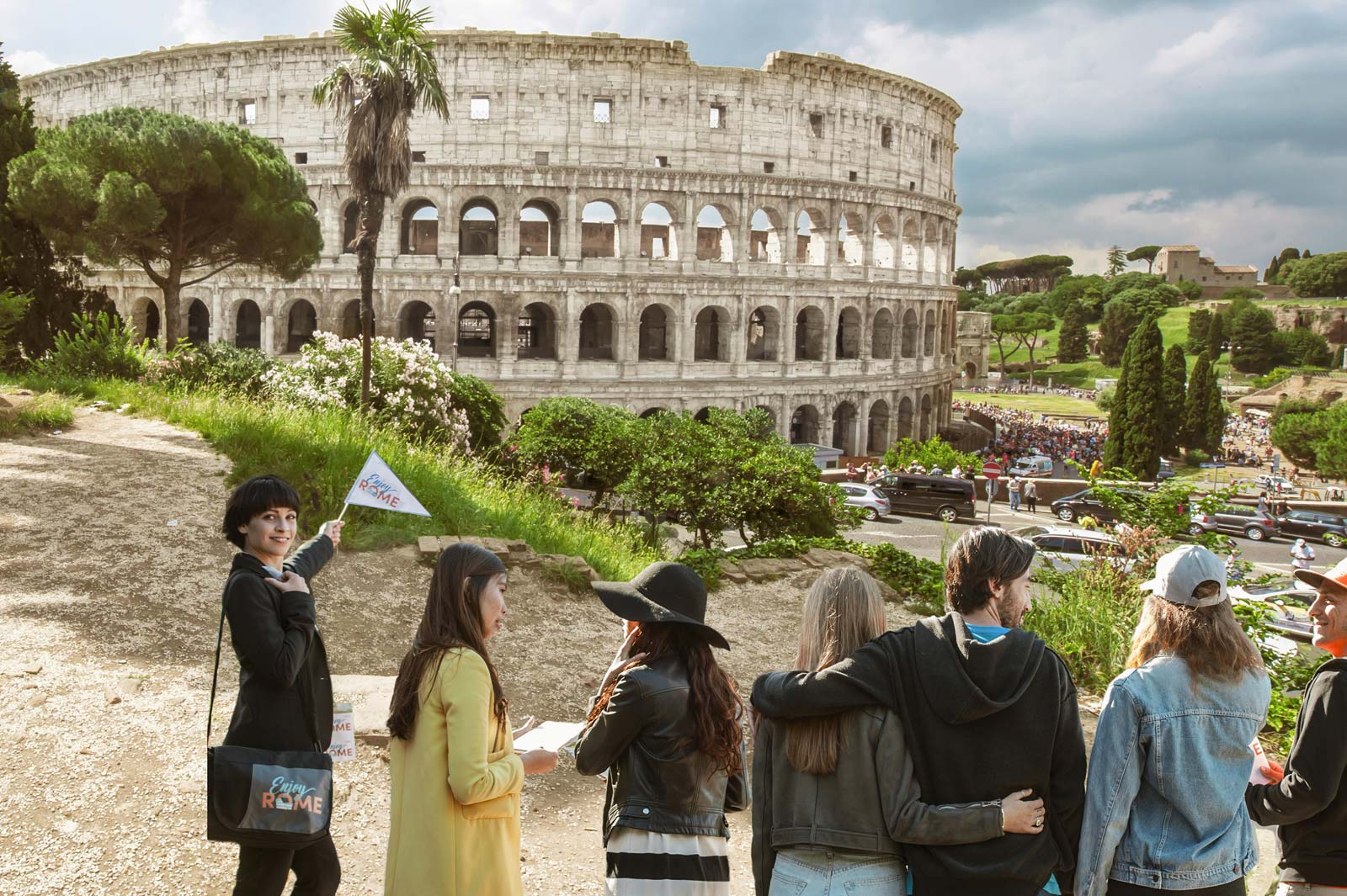 Colosseum, Forum & Palatine Hill with Gladiator Entrance– Private tour